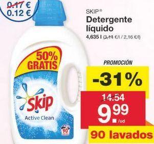 Oferta de Detergente líquido Skip por 11.49€