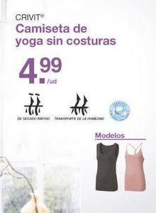 Oferta de Camiseta de tirantes Crivit por 4.99€