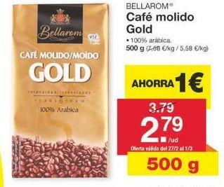 Oferta de Café molido Bellarom por 3.79€