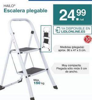 Oferta de Escalera plegable por 24.99€