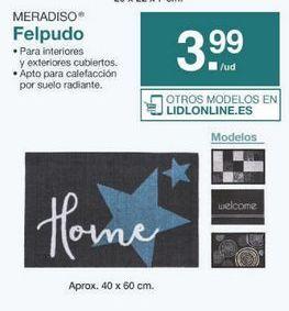 Oferta de Felpudo Meradiso por 3.99€