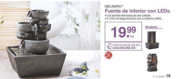 Oferta de Fuente melinera por 19.99€