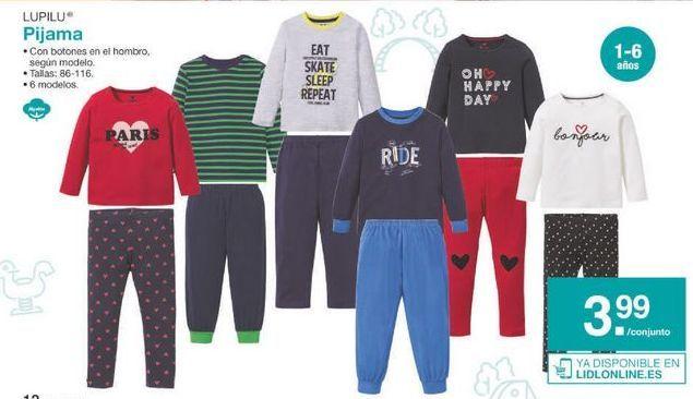 Oferta de Pijama Lupilu por 3.99€