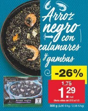 Oferta de Arroz negro por 1.29€