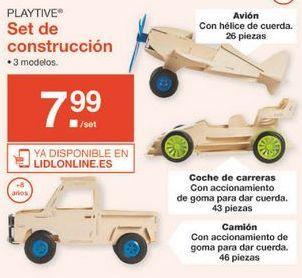 Oferta de Juguetes de construcción Playtive por 7.99€
