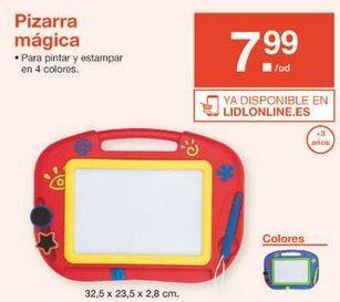 Oferta de Pizarra mágica por 7.99€