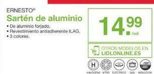Oferta de Sartén de aluminio ernesto por 14.99€