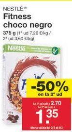 Oferta de Cereales Fitness Nestlé por 2.03€