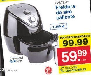 Oferta de Freidora Salter por 59.99€