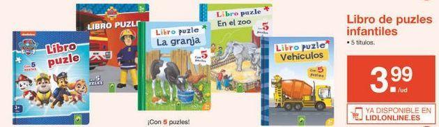 Oferta de Puzzles por 3.99€
