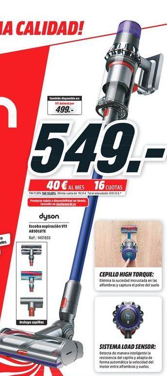 Oferta de Aspirador escoba Dyson por 549€