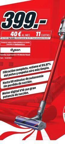 Oferta de Aspirador escoba Dyson por 399€