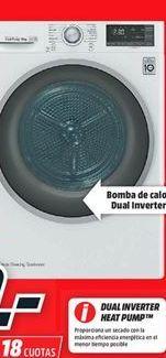 Oferta de Secadoras LG por 599€
