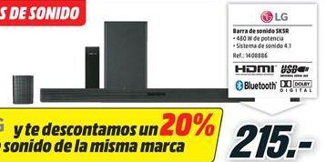 Oferta de Barra de sonido LG por 215€