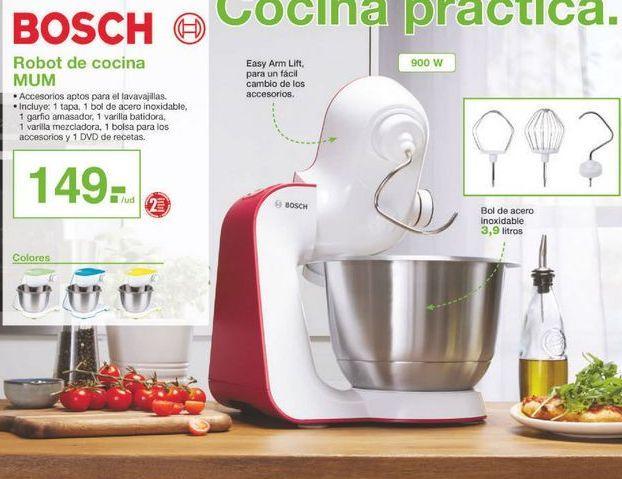 Oferta de Robot de cocina Bosch por 149鈧�