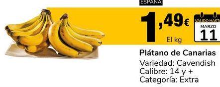 Oferta de Plátanos de Canarias por 1.49€