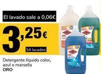 Oferta de Detergente líquido Oro por 3.25€