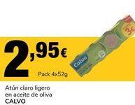 Oferta de Atún claro Calvo por 2.95€