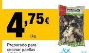 Oferta de Preparado para paella por 4.75€