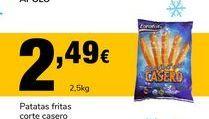 Oferta de Patatas fritas congeladas por 2.49€