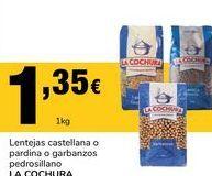 Oferta de Lentejas La cochura por 1.35€