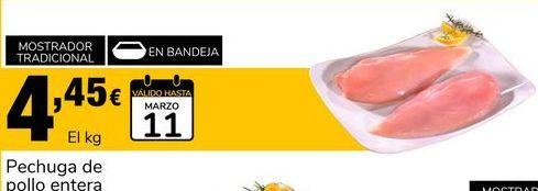 Oferta de Pechuga de pollo por 4.45€