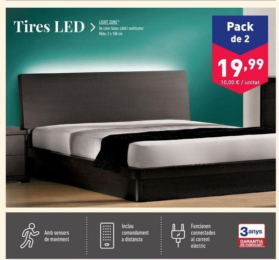 Oferta de Tira led flexible Light zone por 19.99€