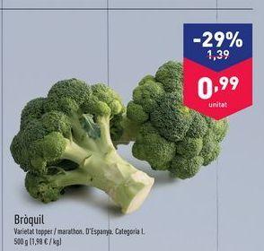 Oferta de Brócoli aldi por 1.39€