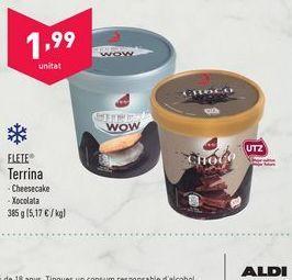 Oferta de Tarrina de helado flete por 1.99€