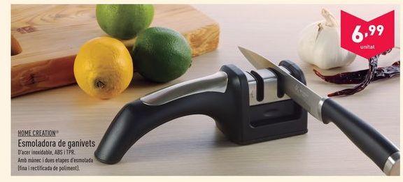 Oferta de Afilador cuchillos Home creation por 6.99€