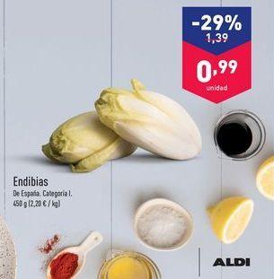 Oferta de Endivias aldi por 1.39€