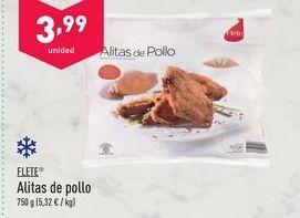 Oferta de Alas de pollo flete por 3.99€