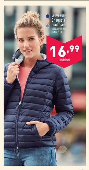 Oferta de Chaqueta up fashion por 16.99€