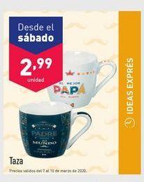 Oferta de Tazas por 2.99€