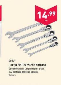 Oferta de Llave de carraca Duro por 14.99€