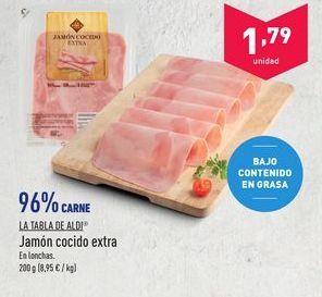 Oferta de Jamón cocido extra aldi por 1.79€