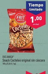 Oferta de Cóctel de aperitivos Frit Ravich por 1€