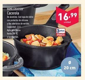 Oferta de Cacerolas Home creation por 16.99€