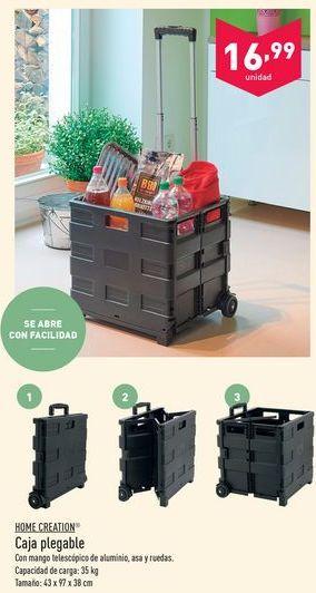Oferta de Caja plegable Home creation por 16.99€