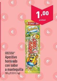 Oferta de Aperitivos Grefusa por 1€