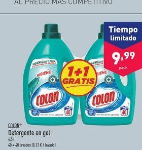 Oferta de Detergente gel Colon por 9.99€