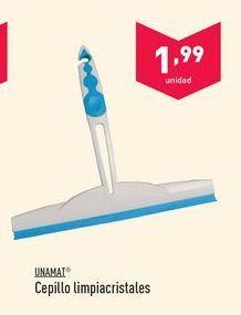 Oferta de Cepillo limpiacristales Unamat por 1.99€