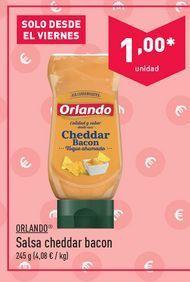 Oferta de Salsas Orlando por 1€