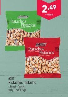 Oferta de Pistachos ANDY por 2.49€