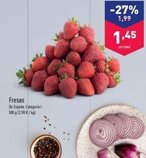 Oferta de Fresas aldi por 1.99€
