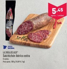 Oferta de Salchichón aldi por 5.45€