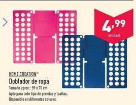 Oferta de Cuidado de la ropa Home creation por 4.99€