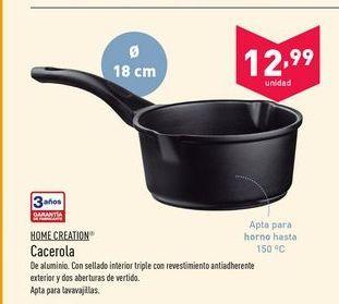 Oferta de Cacerolas Home creation por 12.99€