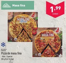 Oferta de Pizza flete por 1.99€