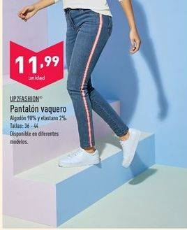 Oferta de Pantalones mujer up fashion por 11.99€